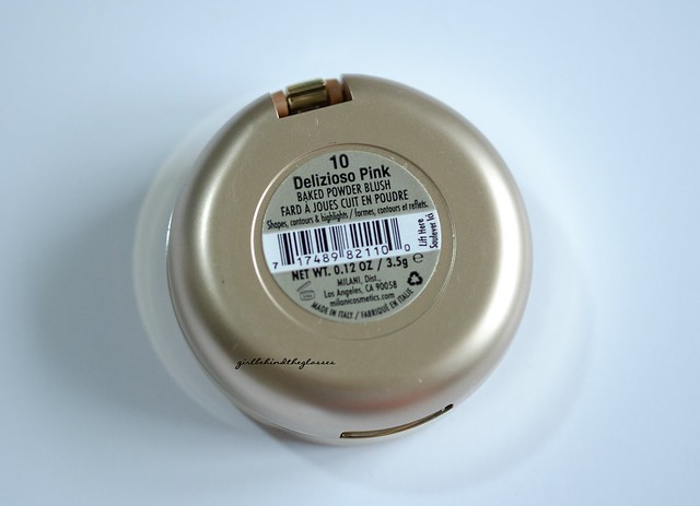 Milani Baked Blush Delizioso Pink2