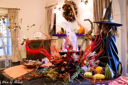 ハロウィン装飾 ~ハロウィンアパート234・・・~