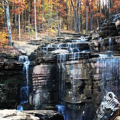 nature square waterfall lofi missouri squareformat ozarks topoftherock bigcedar iphoneography instagramapp