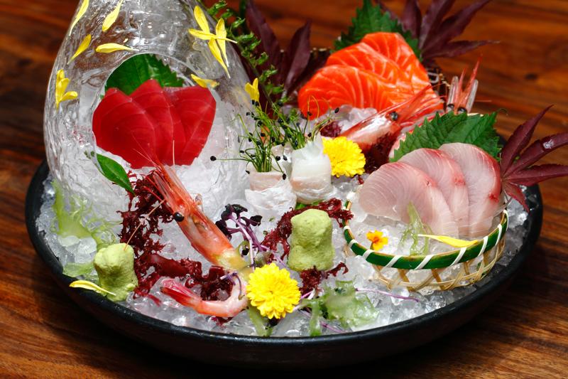 5-Type-Sashimi-Platter