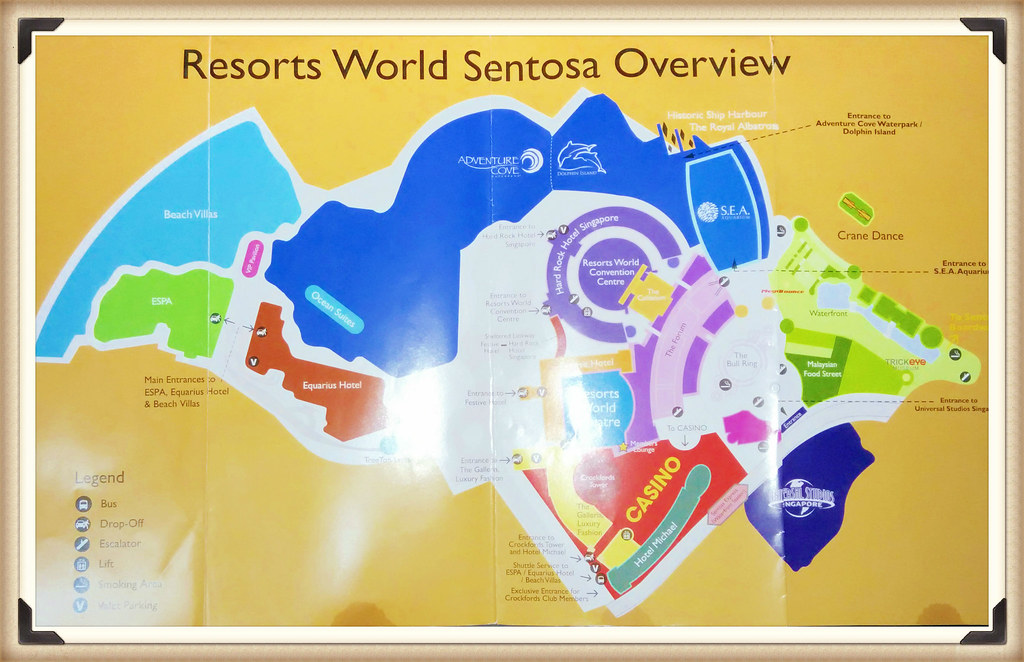 RWS Sentosa Map - travel.joogostyle.com