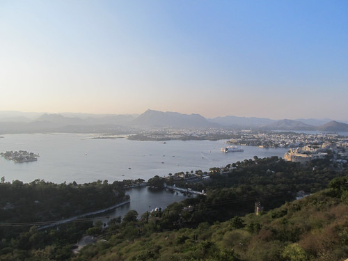 Sunset Point d'Udaipur