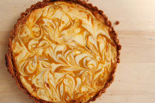pumpkin cheesecake tart 7