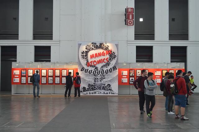 Exposición Mangas Atómicos