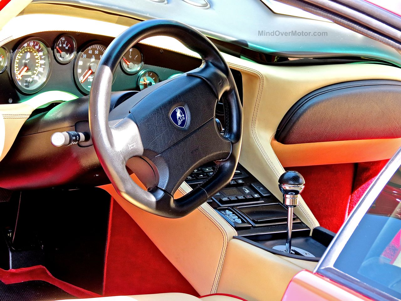 Lamborghini Diablo SV New Hope Interior
