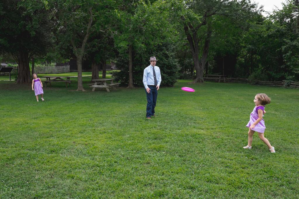 Family frisbee