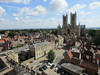 Lincoln Cathedral and town centre