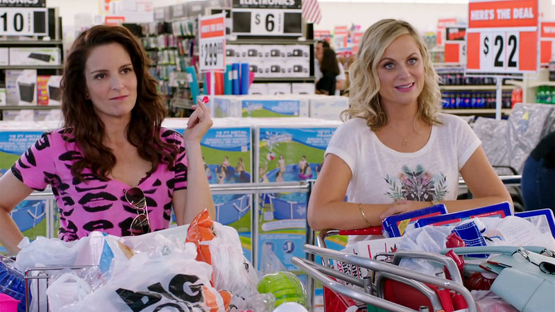 Tina Fey and Amy Poehler play against type in SISTERS.