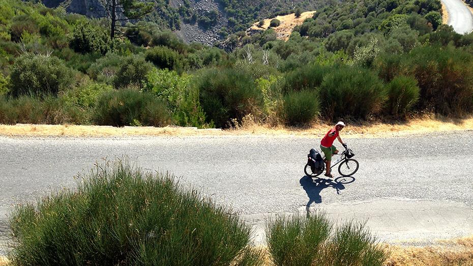 sisam bisiklet gezi