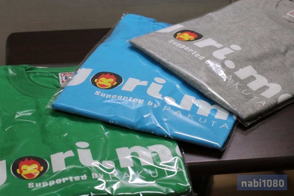 gori.meぱくたそコラボTシャツ01