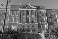 Hamilton International Middle School, South/Front Elevation  Seattle Public Schools