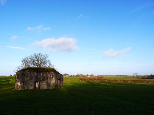 Bunker à Malplaquet