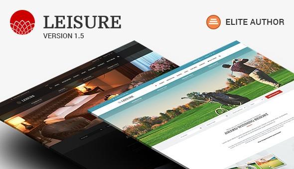 Hotel Leisure v1.6.8.2 - Hotel WordPress Theme