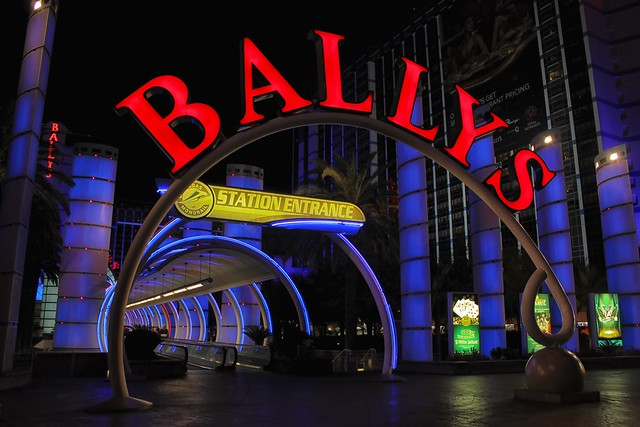 Bally's Monorail Station
