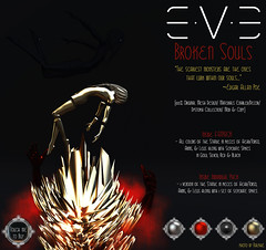 E.V.E Broken Souls Colors