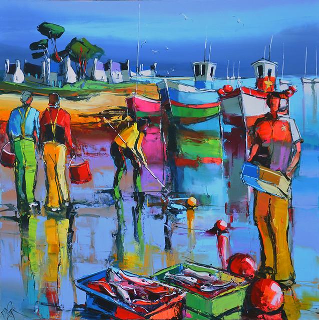 Eric le pape artiste peintre de bretagne peintures de for Artistes peintres connus