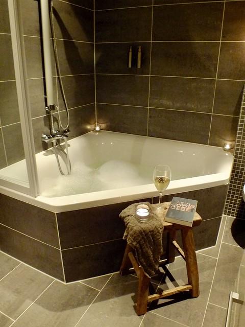 Badkamer krukje landelijke stijl
