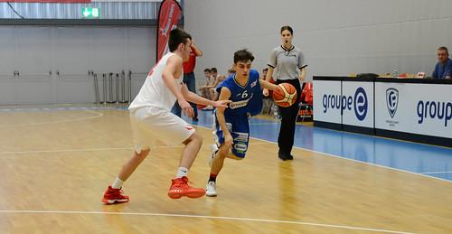 Grande Finale Fribourg Académie U16m -  Swiss Central Basket 8