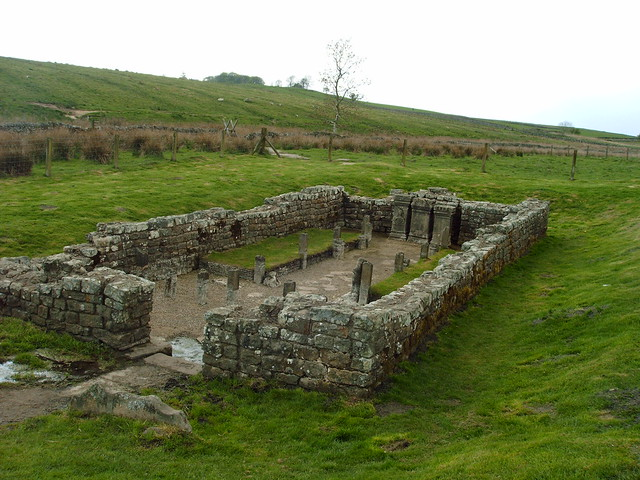 mithraic temple 1 temple to mithras on hadrians wall by etrusia uk flickr photo sharing. Black Bedroom Furniture Sets. Home Design Ideas