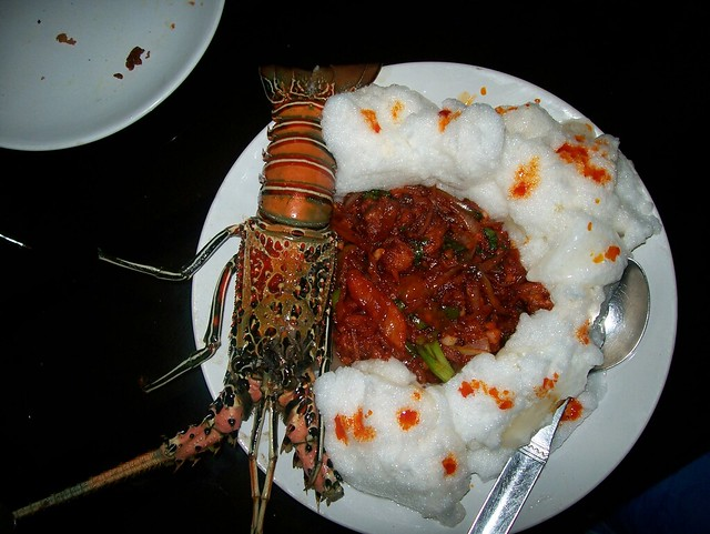 Lobster andaman food for Andaman and nicobar islands cuisine
