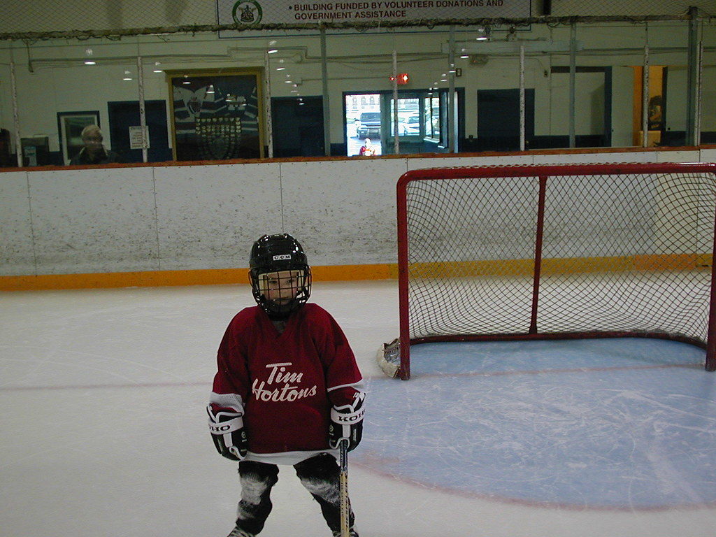 First year Minor Hockey