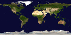 Equirectangular Earth
