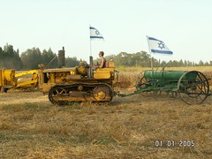 Kibbutz Shavuot Parades such as this xor74, on Flickr