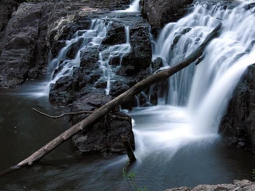 longexposure topf25 water waterfall log rocks 500v20f listeningto nj bridgewater ndfilter raritanwatershed frankzappajoesgarage jimcrocephotographsmemories