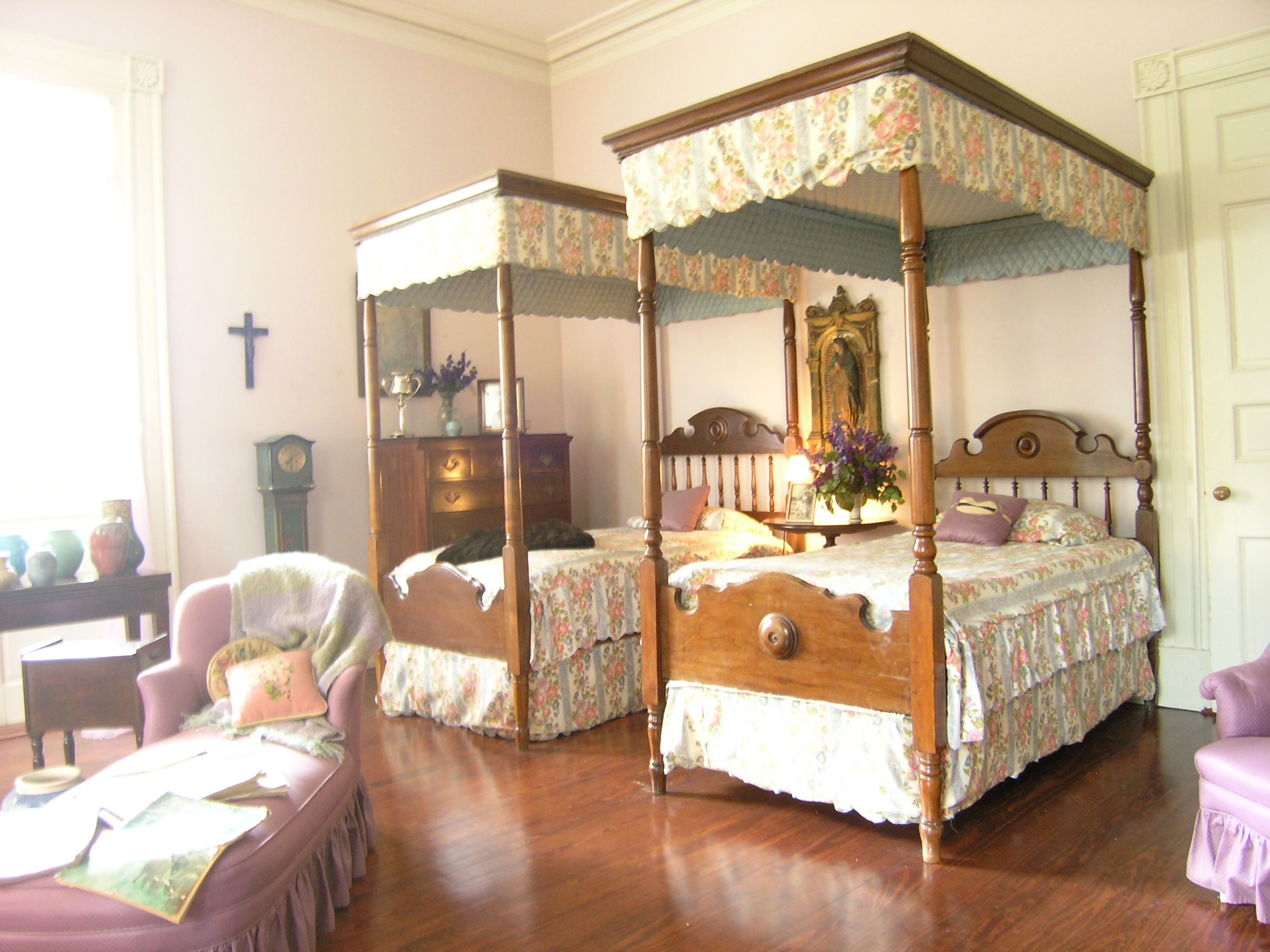 Oak Alley Plantation (Interior Bedroom 1) | Flickr - Photo ...