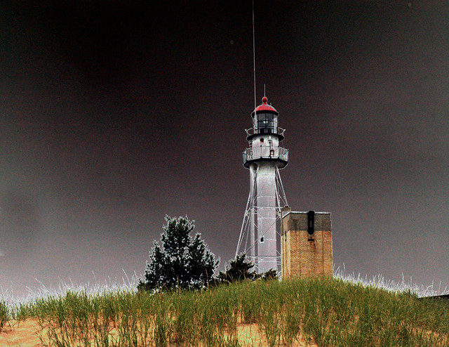 The light at Whitefish point