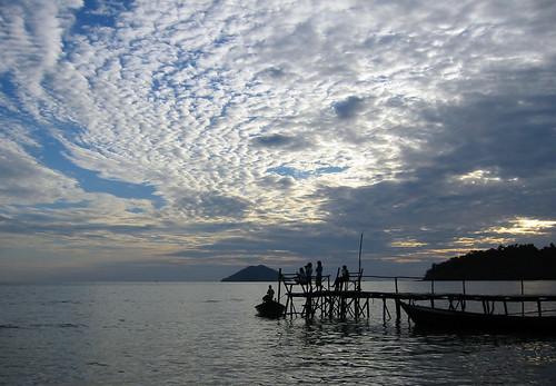 Koh Chang Silhouette