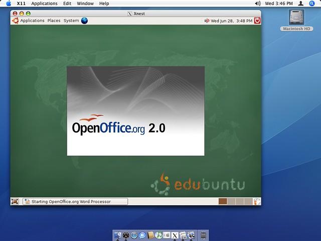 Edubuntu Linux Session on Mac   Flickr ...