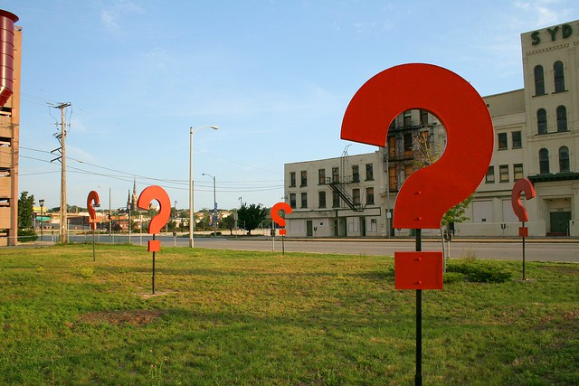 Photo:Question Mark Garden By:dbrekke