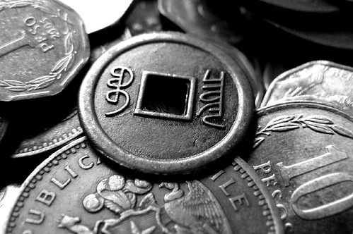 Platita para la micro, y una moneda de....?? 細かいお金 by * Cati Kaoe *
