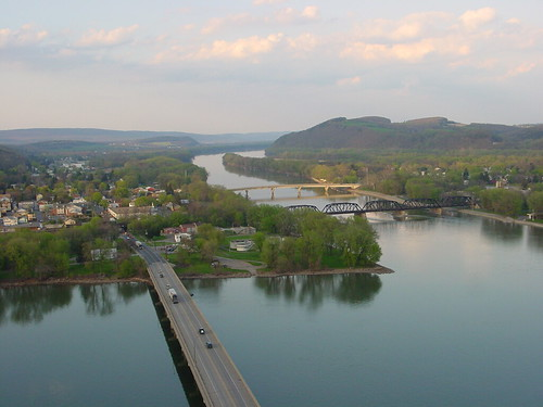 bridge river point geotagged pennsylvania confluence susquehanna geolat4088194 geolon7680194