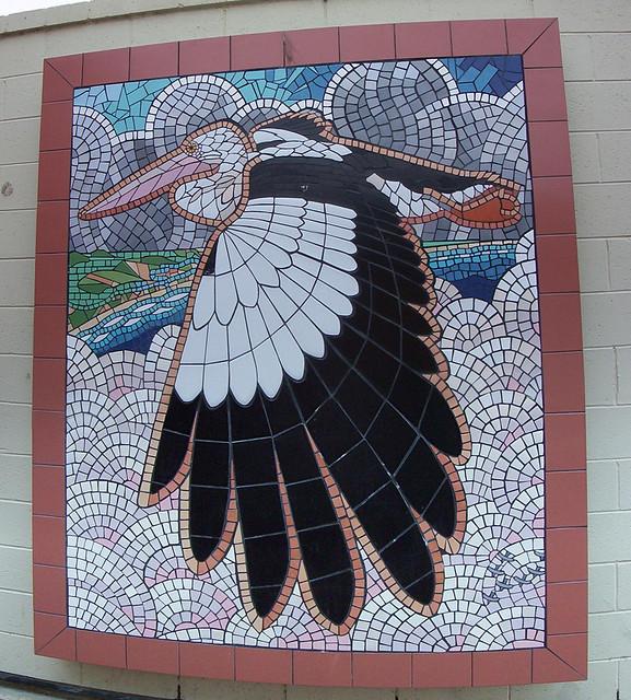 Pelican mural