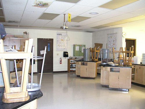 school science lab