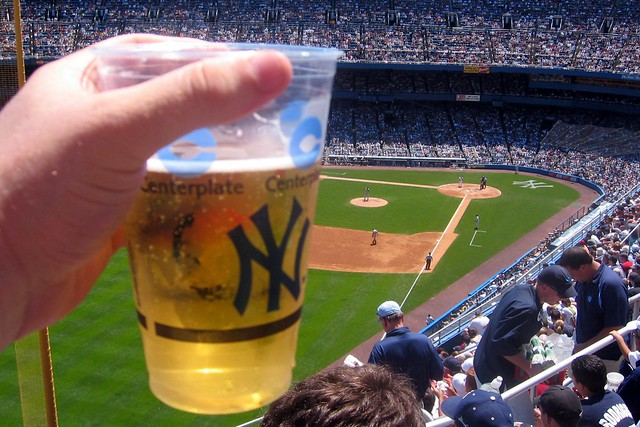 Yankee Stadium Cold Beer On A Hot Day Flickr Photo