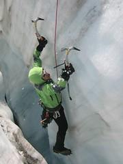 rock climbing(0.0), adventure(1.0), individual sports(1.0), sports(1.0), recreation(1.0), outdoor recreation(1.0), mountaineering(1.0), sport climbing(1.0), extreme sport(1.0), ice climbing(1.0), climbing(1.0),