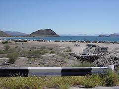 """030127 Going towards Loreto. """"RV-land"""". Mexico"""