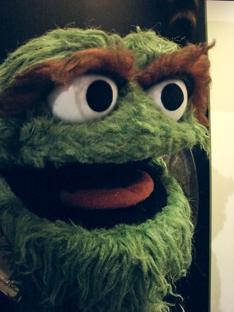 Oscar the Grouch | Flickr - Photo Sharing!