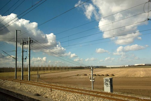 Somewhere between Rotterdam and Paris