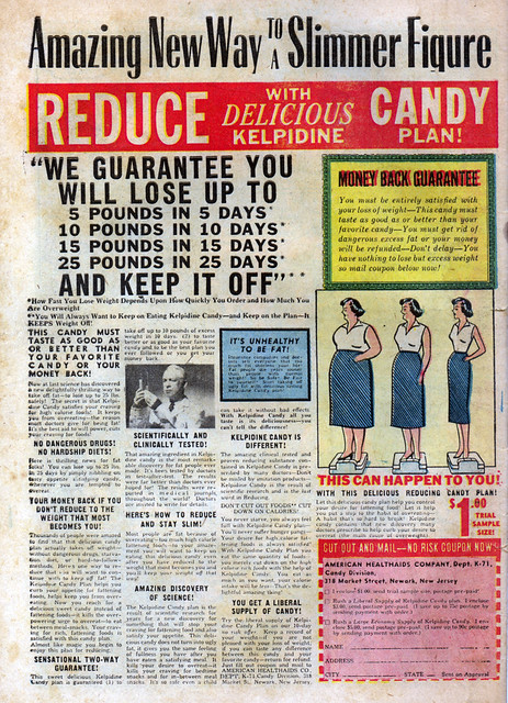 1950's Comic Book Ad - Diet Candy | Flickr - Photo Sharing!