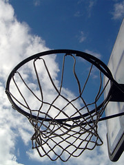 Basketball Sky (Vertical)