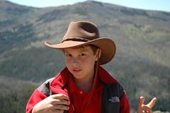 mountain, person, cowboy,