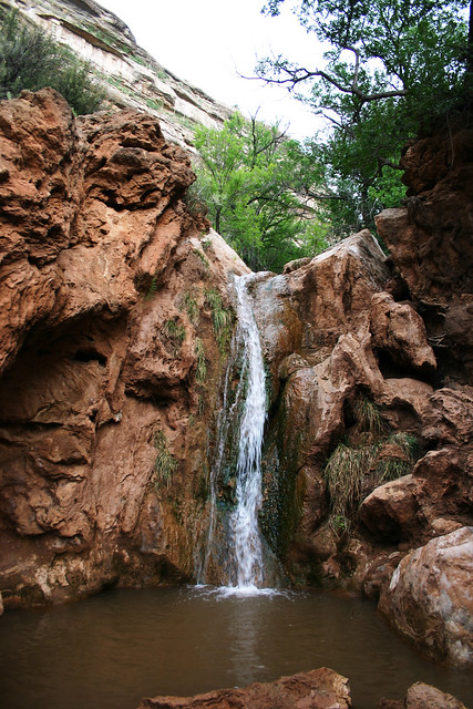 Diagram Waterfall Lincoln National Forest Nm
