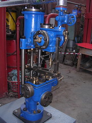 Weir boiler feed water pump