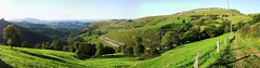 mountain, valley, mountain range, hill, hill station, highland, green, ridge, terrace, terrain, meadow, landscape, mountain pass, rural area, mountainous landforms,