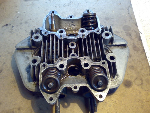 Motorcycle Cylinder Head : Cylinder head triumph motorcycle project