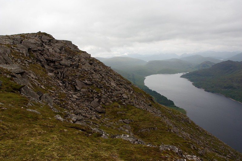 Loch Treig and the Summit of Stob Coire Sgriodain